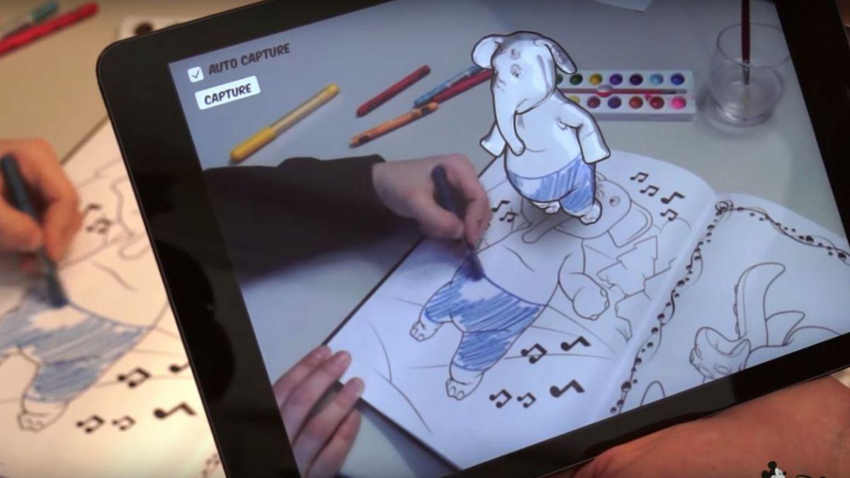 Disney crea una aplicacin para pintar en 3D  lista de peliculas
